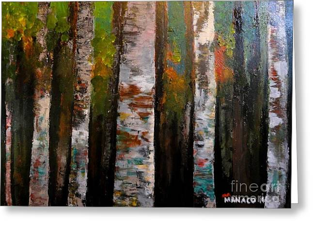 Philippines Greeting Cards - Woods1 Greeting Card by Ferdz Manaco