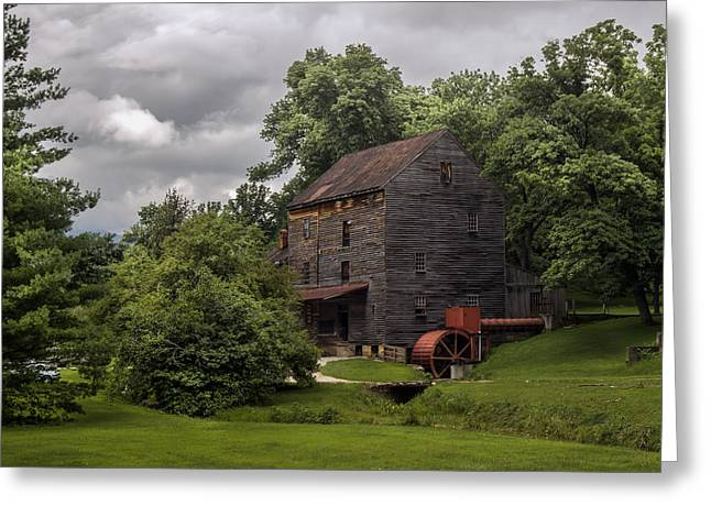 Woodson Greeting Cards - Woodsons Mill Greeting Card by Lisa and Norman  Hall