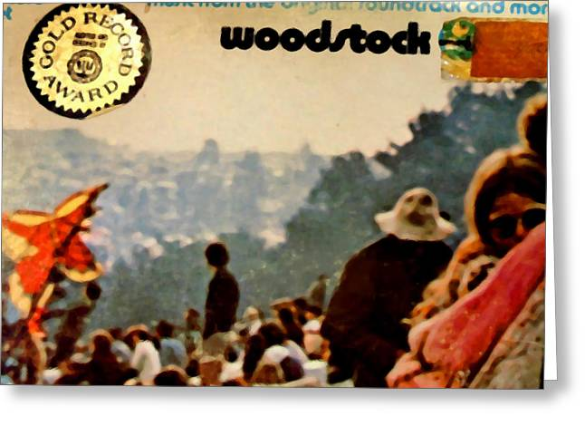 Woodstock Reunion Greeting Cards - Woodstock Cover 1 Greeting Card by Marcello Cicchini