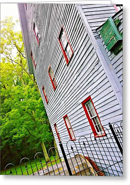 Weird New Jersey Greeting Cards - Woodstown Mill Greeting Card by Joshua Rommelmann