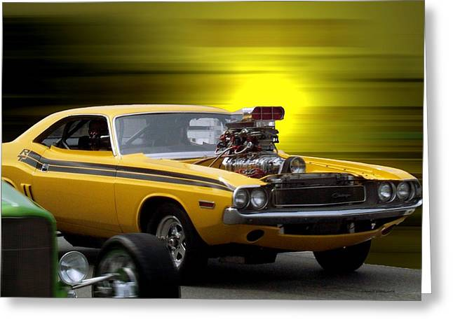 Photography By Thomas Woolworth Greeting Cards - Woodward Avenue Dream Cruise Greeting Card by Thomas Woolworth