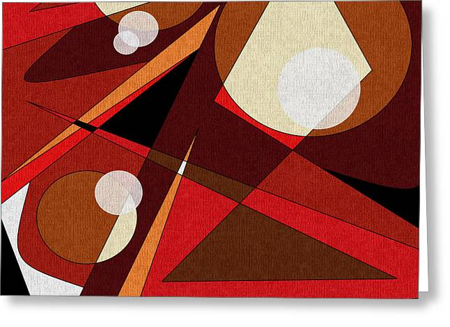 Intense Color Greeting Cards - Woodwinds Greeting Card by Val Arie