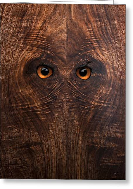 Anthropomorphic Digital Greeting Cards - Woody #1 Greeting Card by Rick Mosher