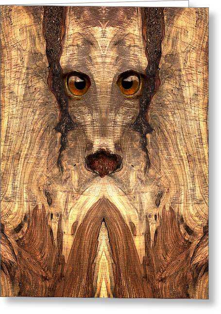 Anthropomorphic Digital Greeting Cards - Woody #12 Greeting Card by Rick Mosher