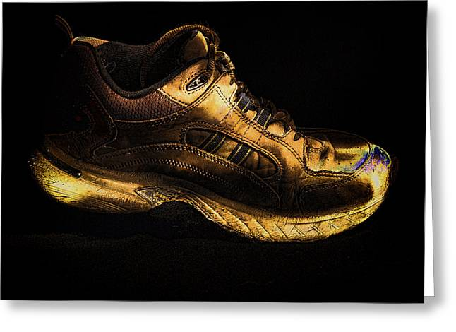 Ron Roberts Photography Greeting Cards - Work Shoe Greeting Card by Ron Roberts