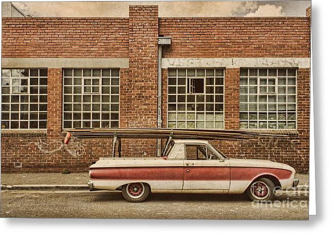 Working Class Greeting Card by Andrew Paranavitana