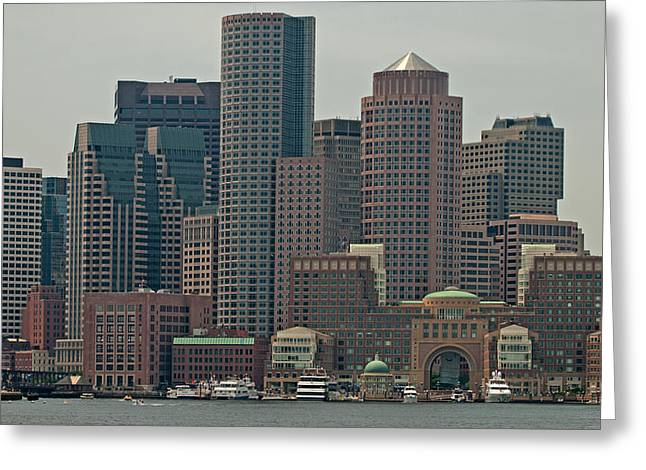 Boston Ma Greeting Cards - World Class Boston Greeting Card by Paul Mangold
