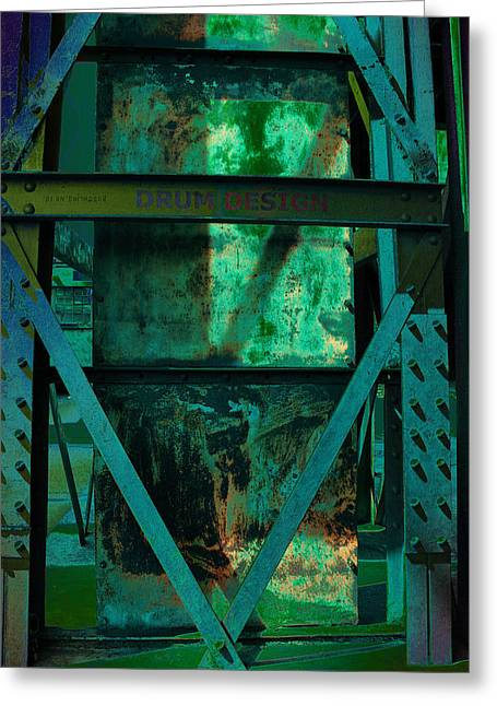 Kultur Greeting Cards - World Heritage Steel Works Germany Greeting Card by Alexander Drum
