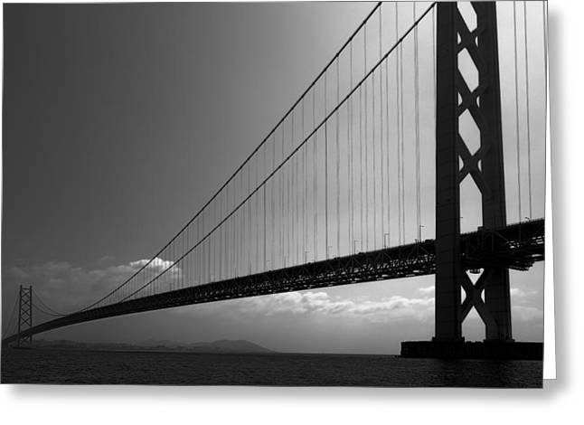 World Record Bridge Greeting Card by Daniel Hagerman