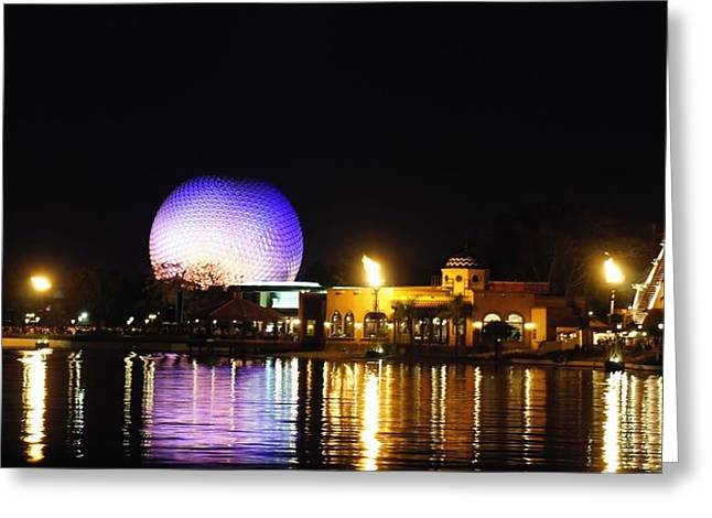 Epcot Center Greeting Cards - World Showcase 2 Greeting Card by Jenny Hudson