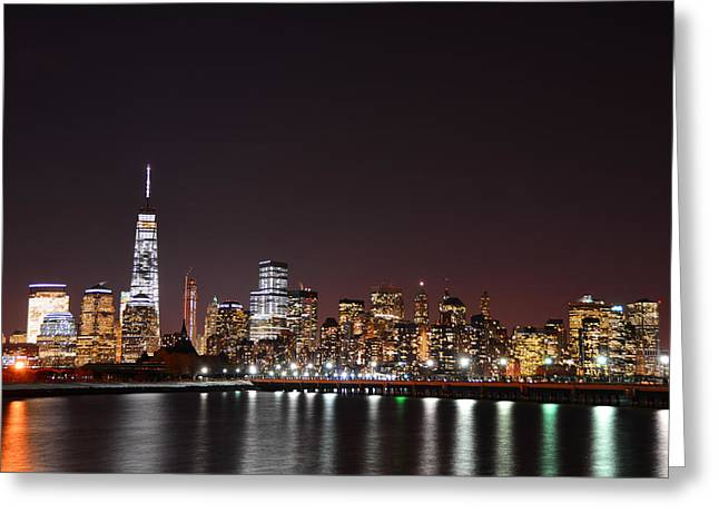 Division Greeting Cards - World Trade Center Greeting Card by Raymond Salani III