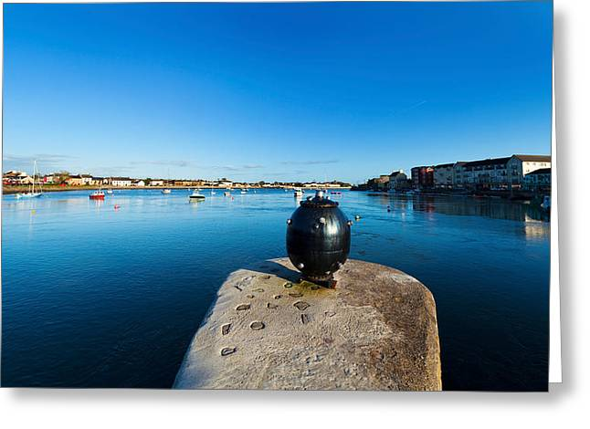 Weaponry Greeting Cards - World War 2 Anti-ship Mine, Dungarvan Greeting Card by Panoramic Images