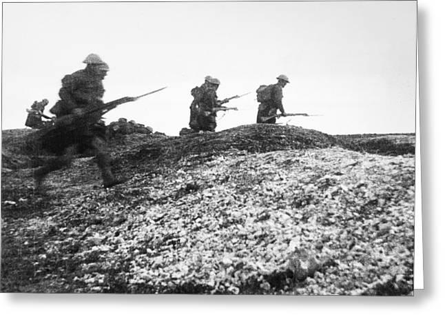 World War I Advance, 1916 Greeting Card by Granger