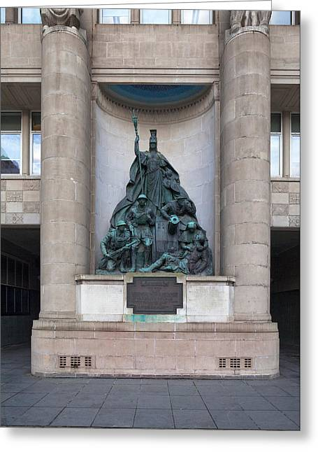 Merseyside Greeting Cards - World War I Memorial, Liverpool Greeting Card by Panoramic Images