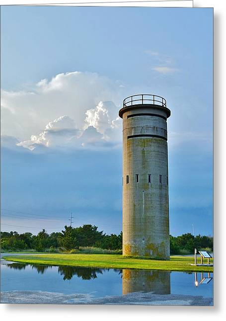 Bethany Beach Greeting Cards - World War II Lookout Tower - Tower Road - Delaware State Park Greeting Card by Kim Bemis