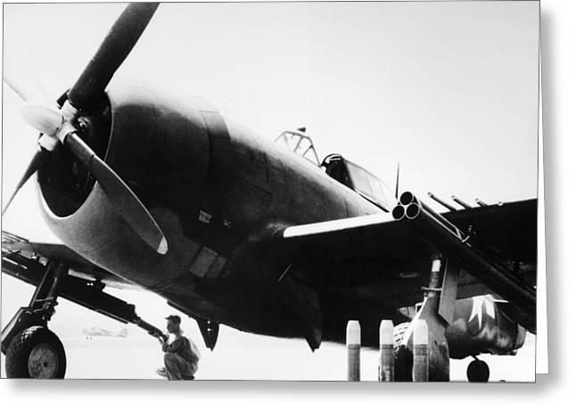 World War II: Thunderbolt Greeting Card by Granger