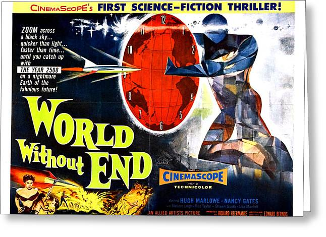 Worlds Without End Greeting Cards - World Without End Poster Greeting Card by Gianfranco Weiss