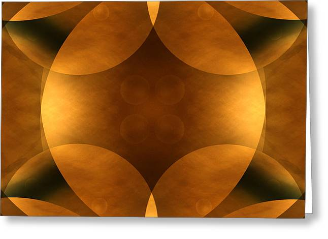 Brown Toned Art Greeting Cards - Worlds Collide 11 Greeting Card by Mike McGlothlen