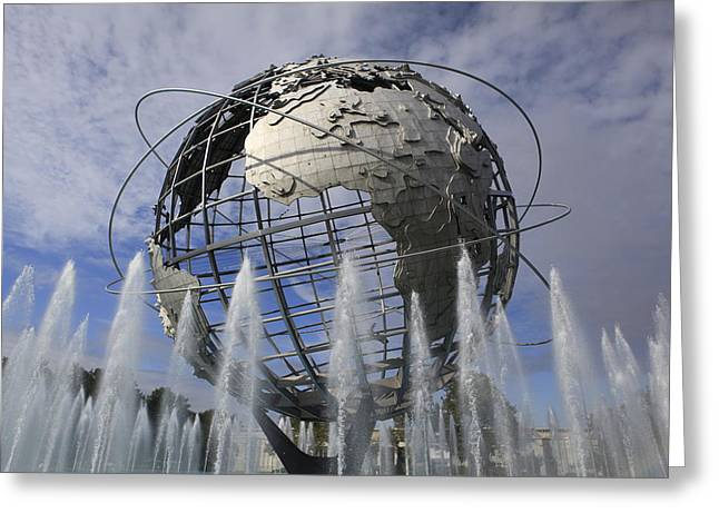 Flushing Greeting Cards - Worlds Fair Greeting Card by Frank Freni