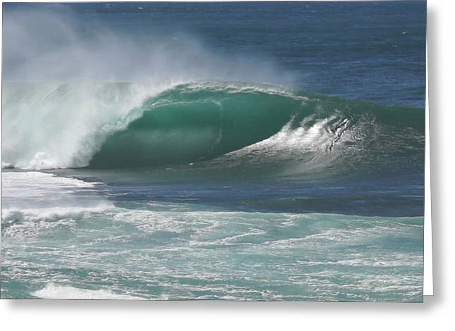 Most Photographs Greeting Cards - Worlds Most Perfect Wave . . . Greeting Card by Kevin Smith