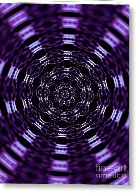 Office Space Digital Greeting Cards - Wormhole Greeting Card by Robyn King