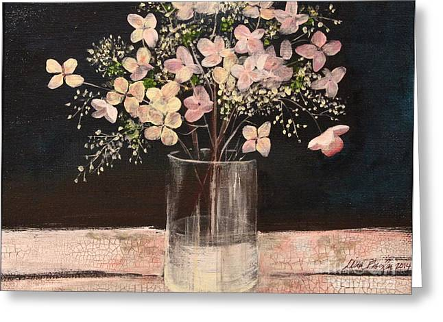 Worn In Paintings Greeting Cards - Worn Away Together Greeting Card by Tina Siart Boylan