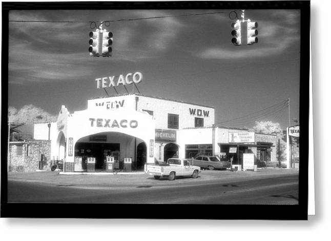 First-lady Greeting Cards - WOW Texaco Bandera 1983 Greeting Card by Greg Kopriva