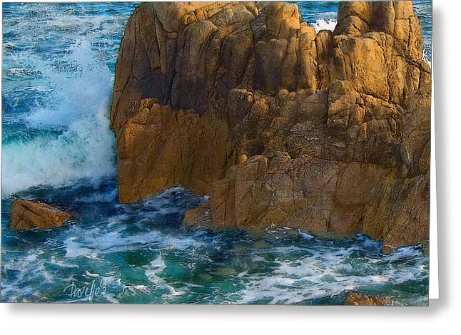 Big Sur Beach Greeting Cards - Wraparound Greeting Card by Jim Pavelle