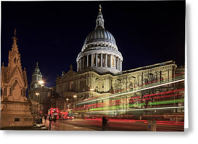 Transport For London Greeting Cards - Wrens Finest Greeting Card by Tedz Duran