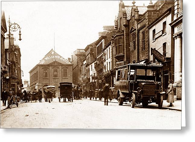 Wrexham Greeting Cards - Wrexham High Street Wales Greeting Card by The Keasbury-Gordon Photograph Archive