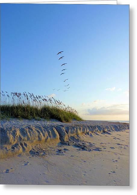 Wrightsville Beach Greeting Cards - Wrightsville Beach Greeting Card by JC Findley