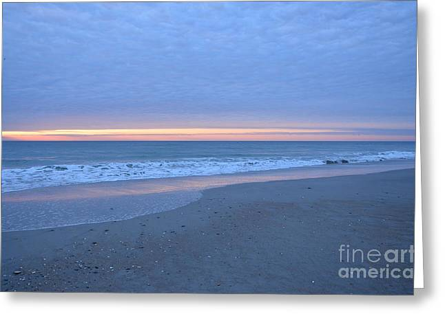 Wrightsville Beach Sunrise Greeting Card by Bob Sample