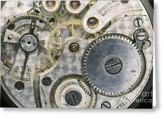 Mechanism Greeting Cards - Wrist Watch Greeting Card by Gregory G. Dimijian, M.D.