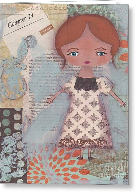 Typewriter Mixed Media Greeting Cards - Write Your Story Greeting Card by Trenda Marie Plunkett