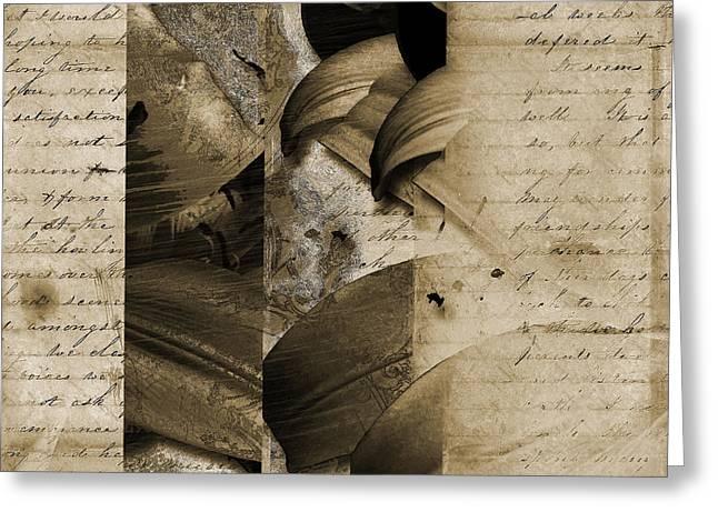 Written II Greeting Card by Yanni Theodorou