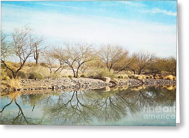 Arizona Prints Greeting Cards - WUHUM Awaken Greeting Card by Kim Fearheiley
