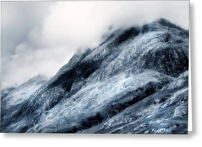 Wuthering Heights. Glencoe. Scotland Greeting Card by Jenny Rainbow