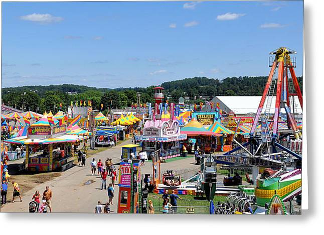 Wv Greeting Cards - WV State Fair 1 Greeting Card by Todd Hostetter