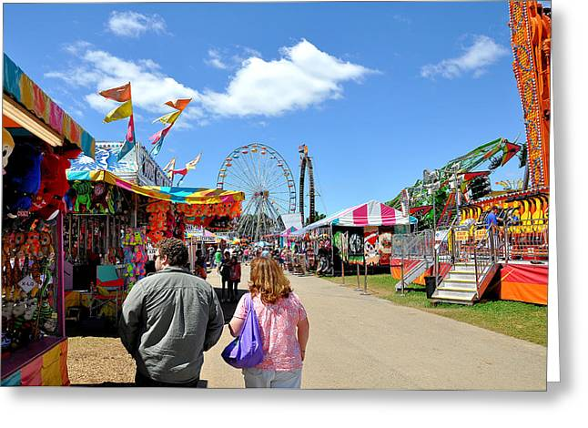 Wv Greeting Cards - WV State Fair 2013 Greeting Card by Todd Hostetter