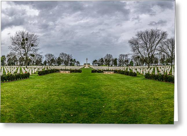 Liberation Greeting Cards - Ww2 Canadian Cemetery - Beny-sur-Mer Greeting Card by Rui Marques