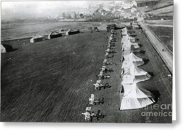 Wwi Greeting Cards - Wwi, Manfred Von Richthofens Flying Greeting Card by Photo Researchers