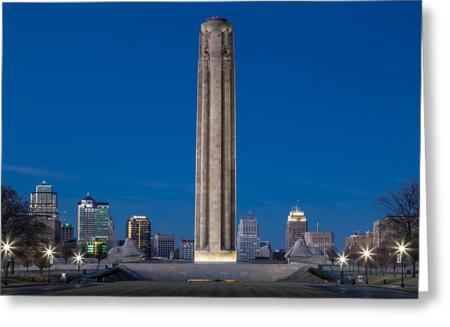Wwi Greeting Cards - World War I Memorial Greeting Card by Tracy Rollins