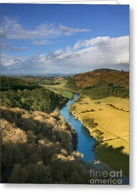 Hereford Greeting Cards - Wye Valley from Symonds Yat Greeting Card by Rod McLean