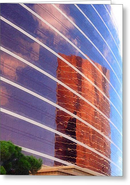 Roulettes Greeting Cards - Wynn Reflection Greeting Card by Ron Regalado