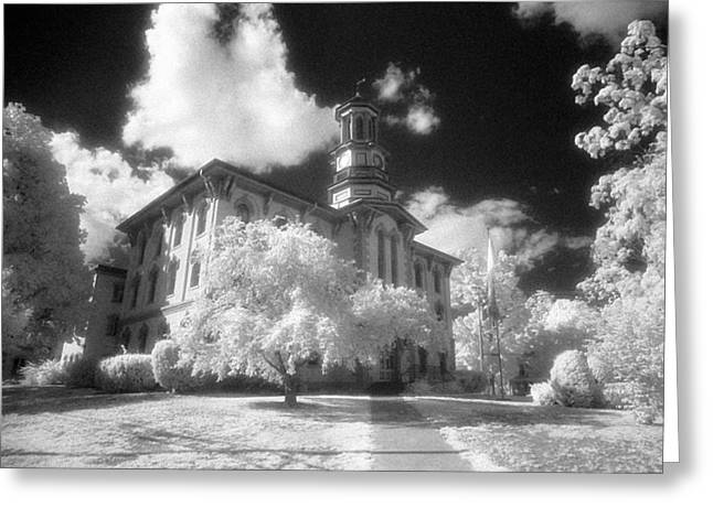 Jim Cook Greeting Cards - Wyoming County Courthouse Greeting Card by Jim Cook