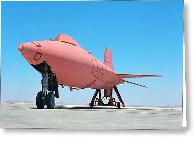 X-15 Aircraft With Ablative Coating Greeting Card by Nasa