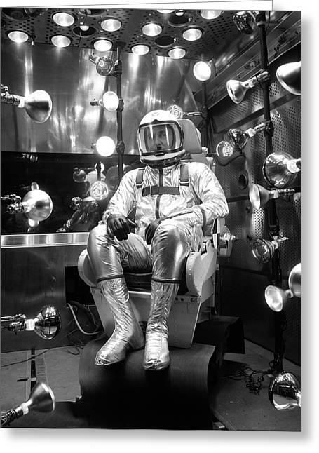X-15 Flight Suit Testing Greeting Card by Nasa/boeing