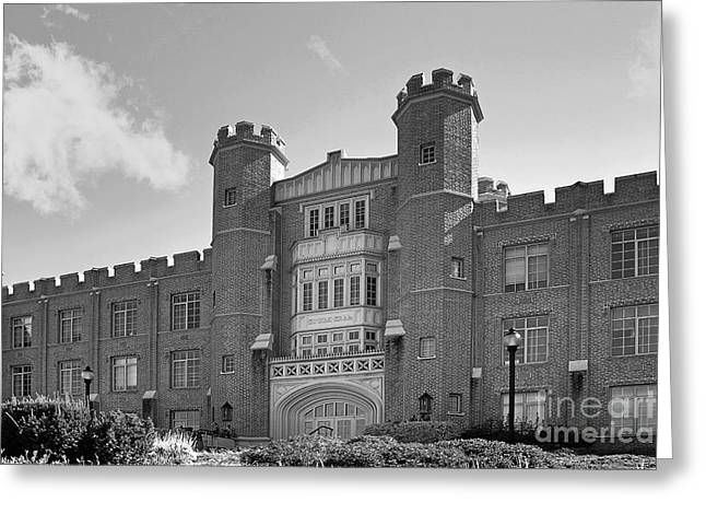 Xavier University Hinkle Hall Greeting Card by University Icons