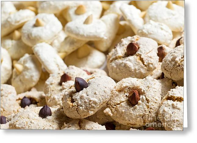 Sugared Almonds Greeting Cards - Xmas cookies Greeting Card by Sinisa Botas