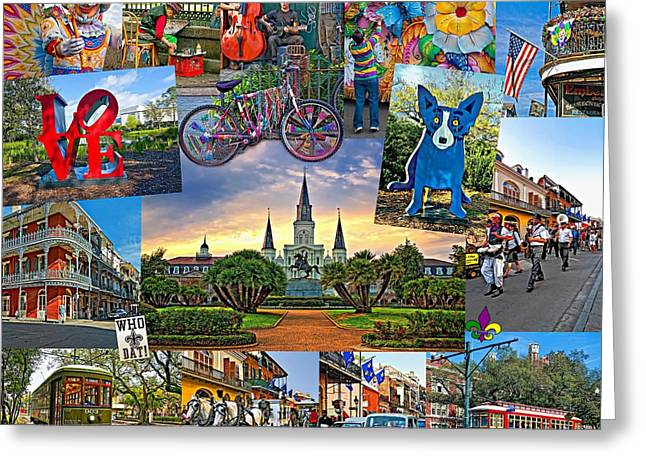Best Sellers -  - Marching Band Greeting Cards - Ya Gotta Love New Orleans Greeting Card by Steve Harrington